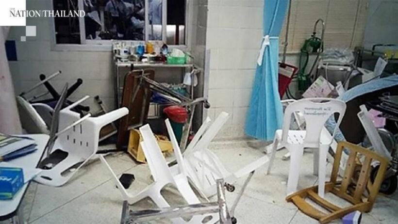 Staff injured, property damaged as gang rampages through 2 Bangkok hospitals | Thaiger