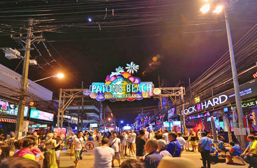 "Phuket's (in)famous ""Soi Bangla"" district reopens today 