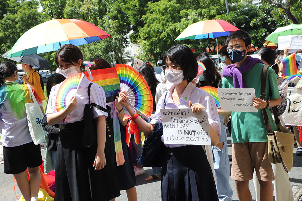 Bangkok sees first ever student-led LGBT pride march - VIDEO | News by Thaiger