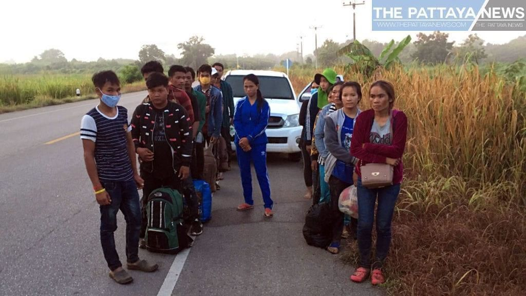 Dozens of Cambodians arrested for attempting to enter Thailand illegally | News by Thaiger