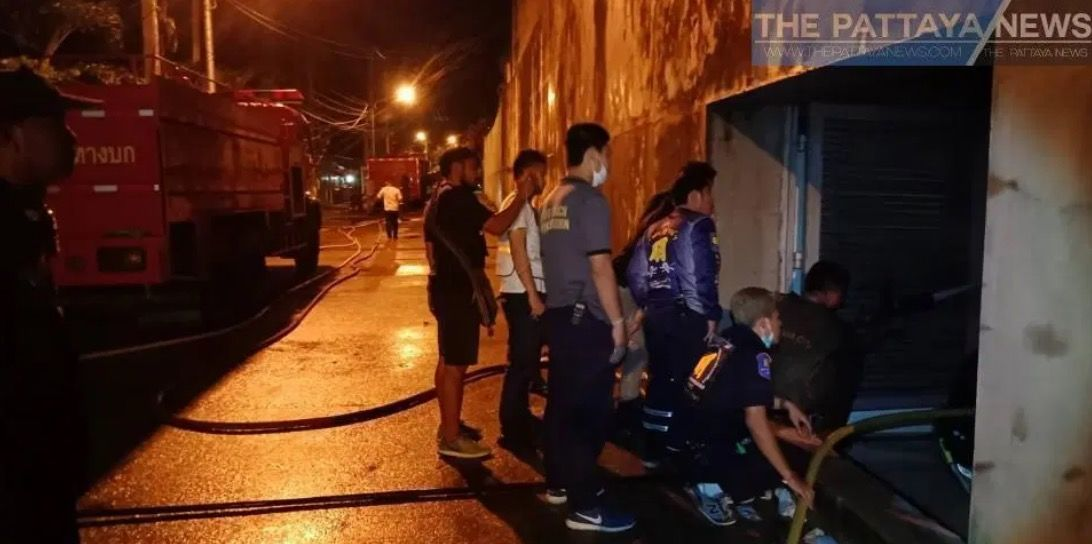 Pattaya's Sukhawadee House burns... AGAIN - VIDEO | News by Thaiger