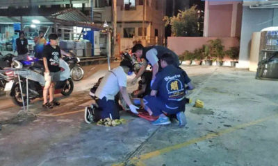 Woman survives 4 storey fall in Pattaya – VIDEO   Thaiger