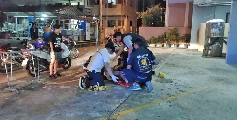 Woman survives 4 storey fall in Pattaya – VIDEO | Thaiger