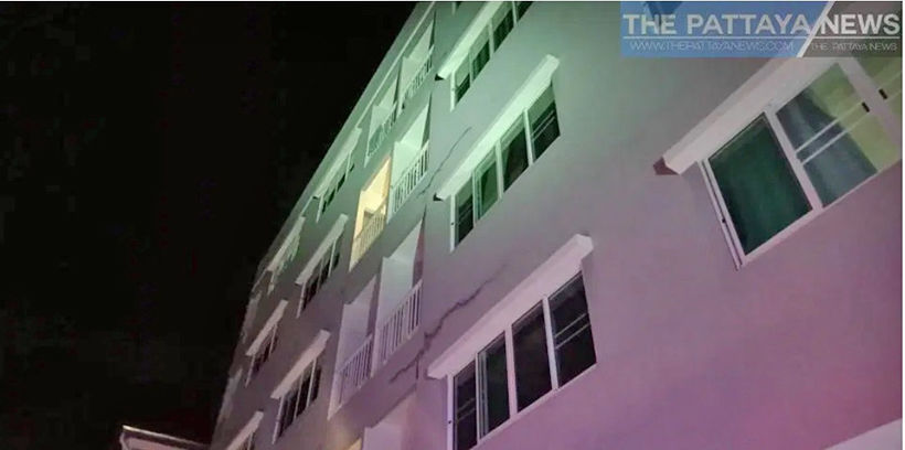 Woman survives 4 storey fall in Pattaya - VIDEO | News by Thaiger
