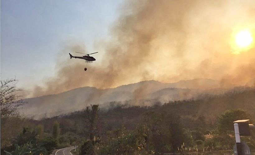 Opposition questions ministry's plan to buy firefighting helicopters | Thaiger