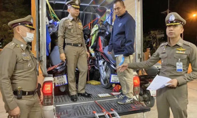 Busy motorbike thieves nabbed in Chon Buri | Thaiger