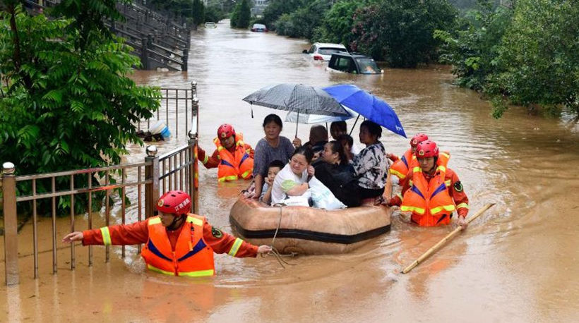 A recovering China faces worst floods in decades | News by Thaiger