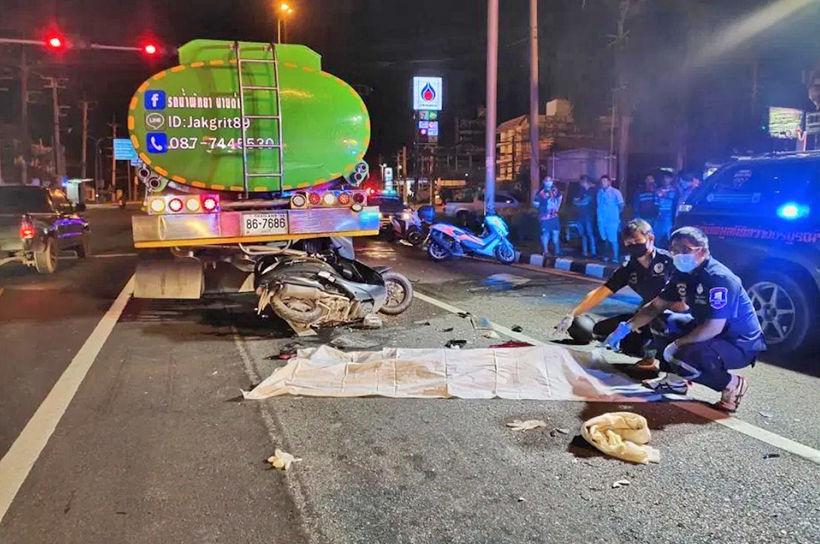 Pattaya motorcyclist in fatal crash | News by Thaiger