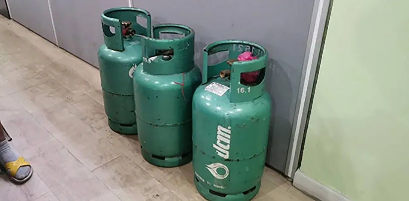 Couple nabbed after footage shows them stealing gas cylinders | News by Thaiger