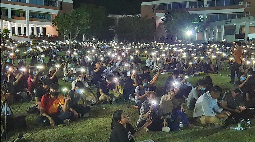 Demonstrators turn Isaan protests into celebrations – VIDEO | The Thaiger