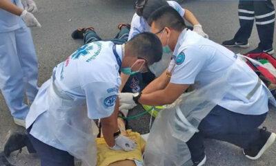 Woman motorcyclist dies in Chon Buri crash | Thaiger