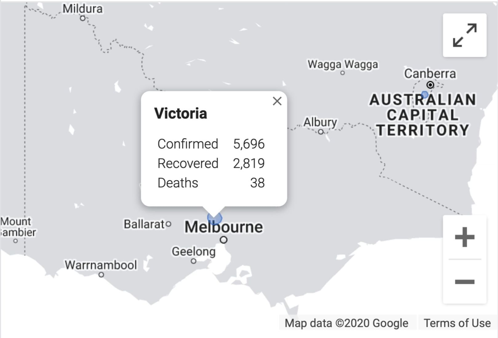 Victoria's capital, Melbourne, records 580 Covid-19 cases in past two days   News by Thaiger