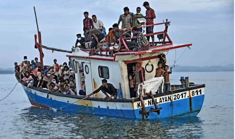 Rohingya boat incident leaves 24 feared dead off Malaysian coast | The Thaiger
