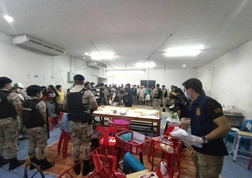 Officials raid 2 Phuket casinos, arresting 87 illegal gamblers | The Thaiger