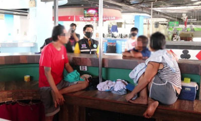 Welfare officials visit homeless people living in Pattaya's abandoned bars | Thaiger