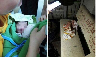 TP. HCM: Bé sơ sinh còn nguyên dây rốn bị bỏ rơi trên ghế đá trong đêm   Thaiger