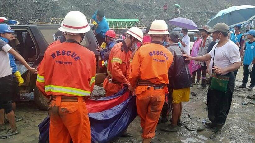 113 bodies recovered in Myanmar jade mine mudslide | Thaiger