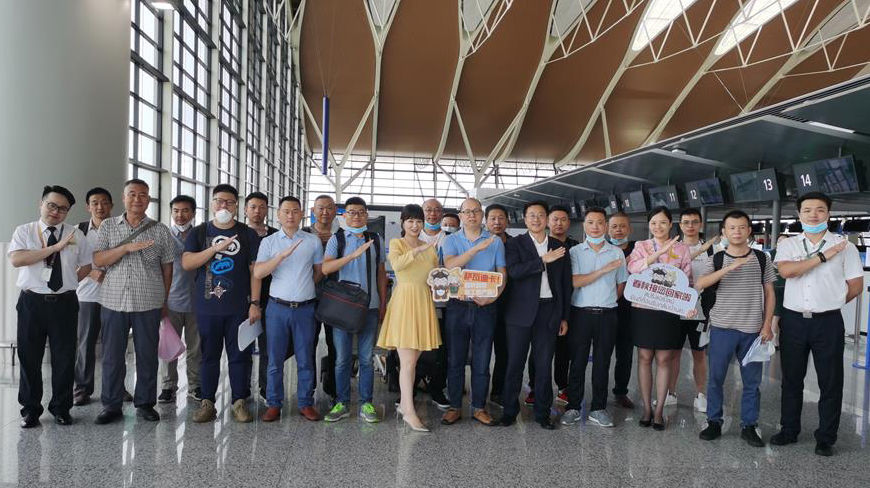 First post-Covid flight from China lands in Bangkok | Thaiger