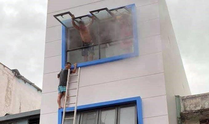 TP. HCM: Hỏa hoạn tại quán cơm khiến 7 người bị mắc kẹt   News by Thaiger