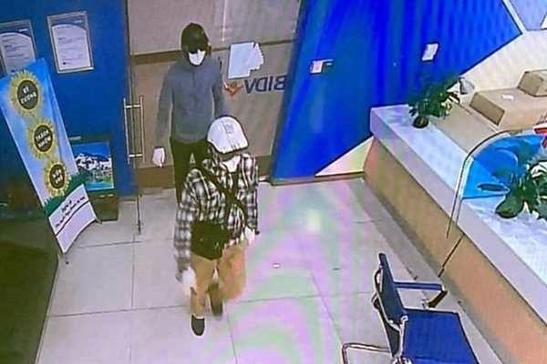 Vụ dùng súng, lựu đạn cướp Ngân hàng BIDV tại Hà Nội: Công bố hình ảnh 2 đối tượng | News by Thaiger