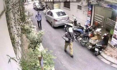 Vụ dùng súng, lựu đạn cướp Ngân hàng BIDV tại Hà Nội: Công bố hình ảnh 2 đối tượng | Thaiger
