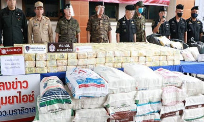 Millions of meth pills, tonnes of marijuana seized in 3 major drug hauls | The Thaiger