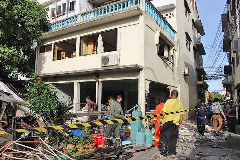 Ratchaburi explosion injures 4 | Thaiger