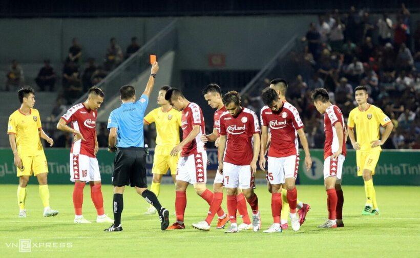 V-League 2020: CĐV ăn mừng trước chiến thắng nghẹt thở của Hà Tĩnh trước TP. HCM | News by Thaiger