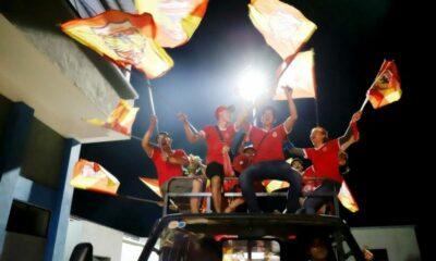 V-League 2020: CĐV ăn mừng trước chiến thắng nghẹt thở của Hà Tĩnh trước TP. HCM | The Thaiger