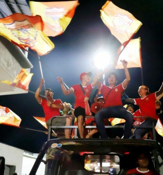V-League 2020: CĐV ăn mừng trước chiến thắng nghẹt thở của Hà Tĩnh trước TP. HCM | Thaiger