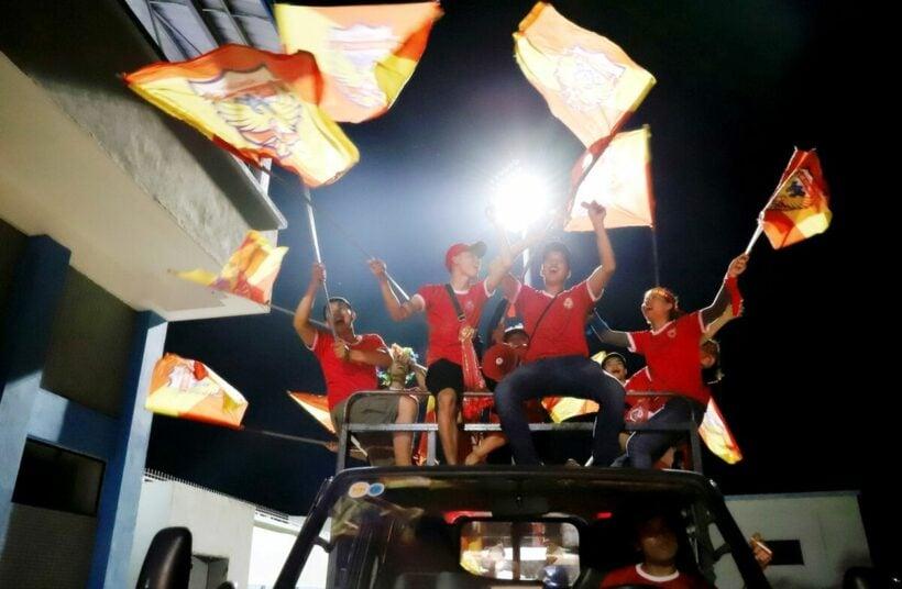 V-League 2020: CĐV ăn mừng trước chiến thắng nghẹt thở của Hà Tĩnh trước TP. HCM   Thaiger