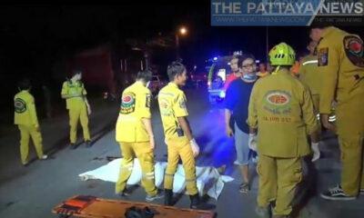 Man dies after crashing bike into lighting pole in Pattaya | Thaiger