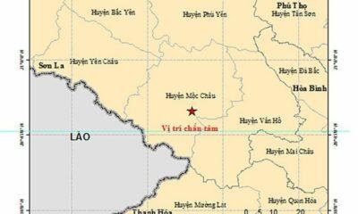 Động đất 5.3 độ richte tại Sơn La, khu vực Hà Nội rung lắc | Thaiger