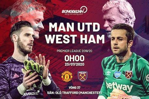 Nhận định bóng đá trận MU vs West Ham - Ngoại hạng Anh 2019/20 - (0h00 ngày 23/7): 3 điểm quyết định tất cả | News by Thaiger