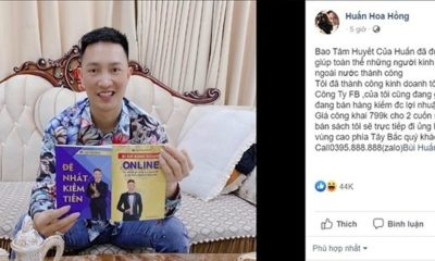 Huấn Hoa Hồng bị phạt 17,5 triệu đồng vì xuất bản, phát hành sách không giấy phép | Thaiger