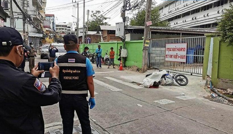 Motorbike taxi driver shot dead behind Pattaya school after dropping off teacher | Thaiger