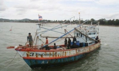 Cambodian accused of compatriot's murder on fishing boat | Thaiger