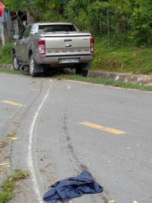 Nghệ An: Xe ô tô của Trưởng phòng TN&MT huyện đâm chết người   Thaiger