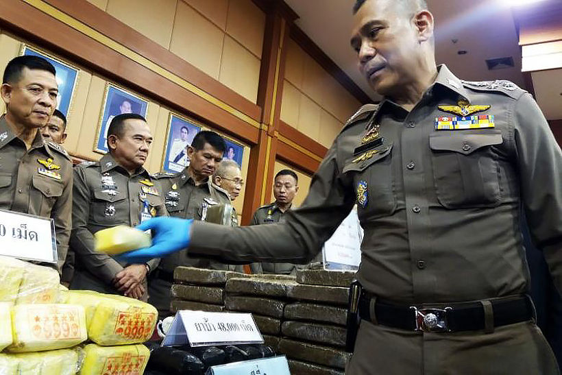 Crystal meth making a comeback after travel restrictions eased | Thaiger