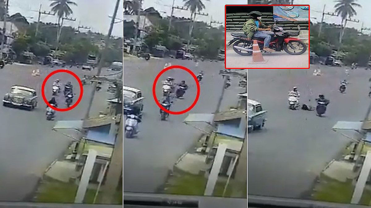 Pattani police hunt thief in fatal bag snatching – VIDEO | Thaiger