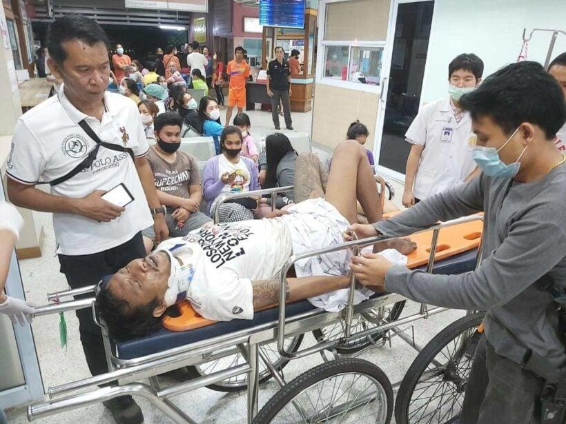 Murder suspect captured after motorbike crash | Thaiger