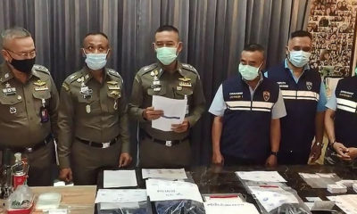 Immigration police nab American, Thai wife for visa forgery, cannabis | The Thaiger