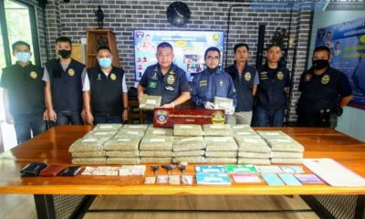 107 kilograms of cannabis seized, 3 arrested in Chon Buri drugs bust | The Thaiger