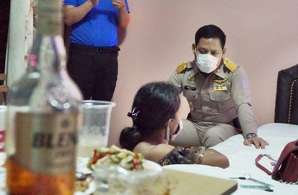 Cambodian transgender woman arrested for human trafficking in Sa Kaeo   Thaiger
