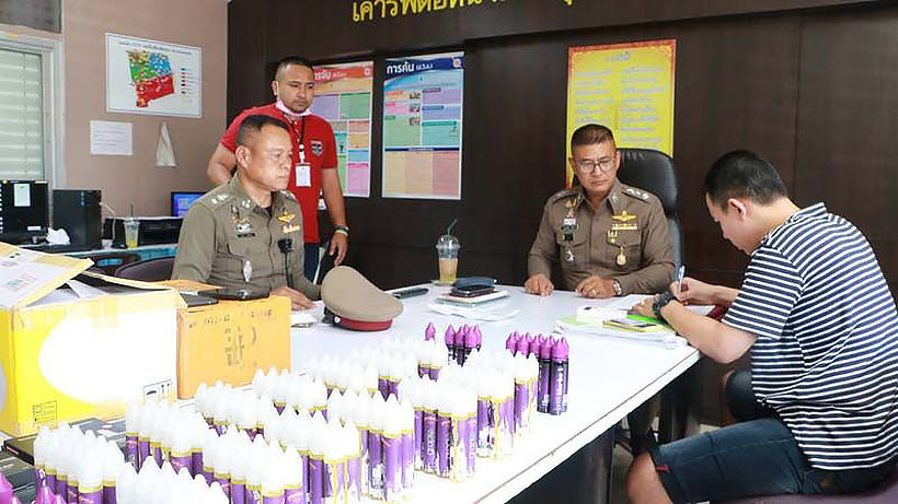 Bangkok man arrested for selling e-cigarettes, vaping fluid | Thaiger