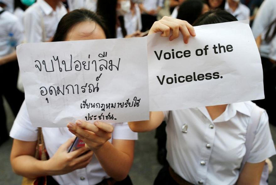 """Political activists taken to jungle for """"attitude adjustment"""" lecture from officials 