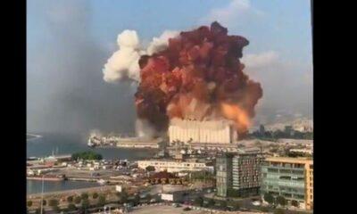 Huge explosion at Port of Beirut kills 78 – VIDEO   Thaiger