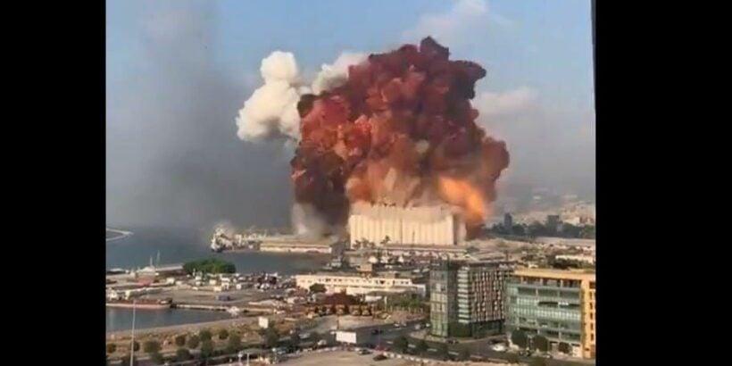 Huge explosion at Port of Beirut kills 78 – VIDEO | Thaiger