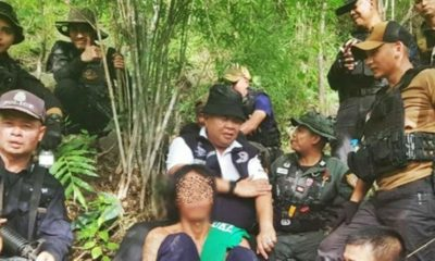 Suspected child rapist arrested in Isaan forest | The Thaiger