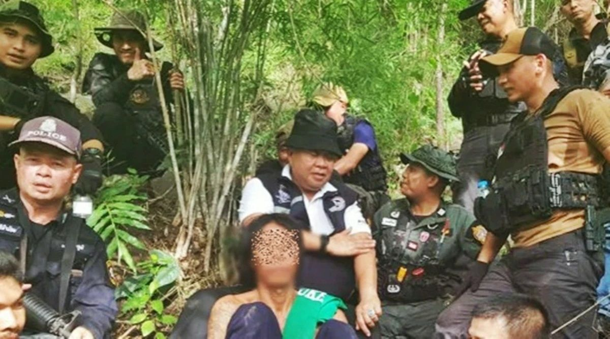 Suspected child rapist arrested in Isaan forest   Thaiger